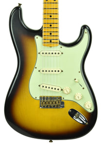 Fender Custom Shop 59 Special Stratocaster Journeyman Relic 2 Tone Sunburst CZ548072 - The Music Gallery