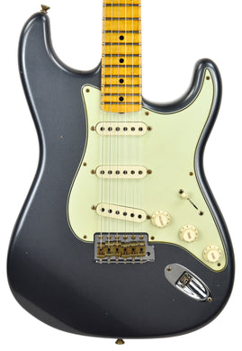 Fender Custom Shop 59 Special Stratocaster Journeyman Relic in Charcoal Frost Metallic CZ550372
