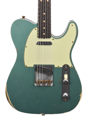Fender Custom Shop 60 Telecaster Custom Relic in Sherwood Green R113208 - The Music Gallery