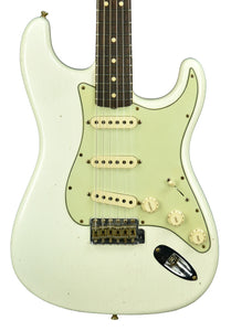 Fender Custom Shop 1963 Stratocaster Relic in Aged Olympic White R107946