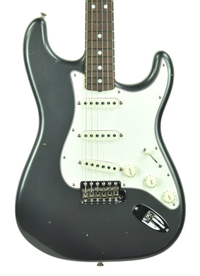 Fender Custom Shop 65 Stratocaster Journeyman Relic in Charcoal Frost Metallic CZ544964