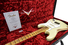Fender Custom Shop '69 Stratocaster Heavy Relic Aged Vintage White R103056 - The Music Gallery