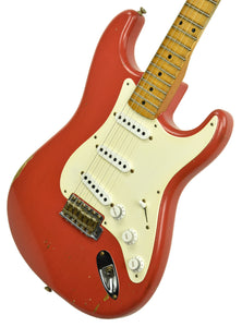 Fender Custom Shop Masterbuilt 56 Stratocaster Relic by Carlos Lopez in Fiesta Red R101778