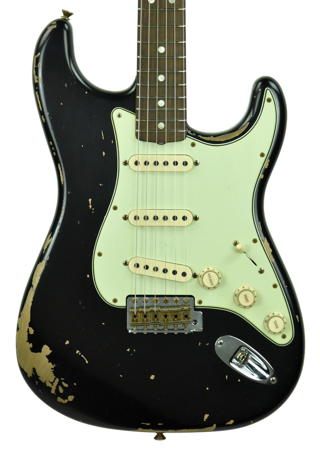 Fender Custom Shop Michael Landau Signature 1968 Stratocaster in Black R97574