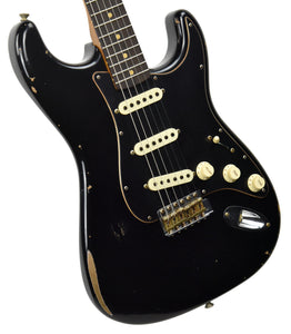 Fender Custom Shop Limited Edition Roasted Poblano Stratocaster Relic in Black CZ548461
