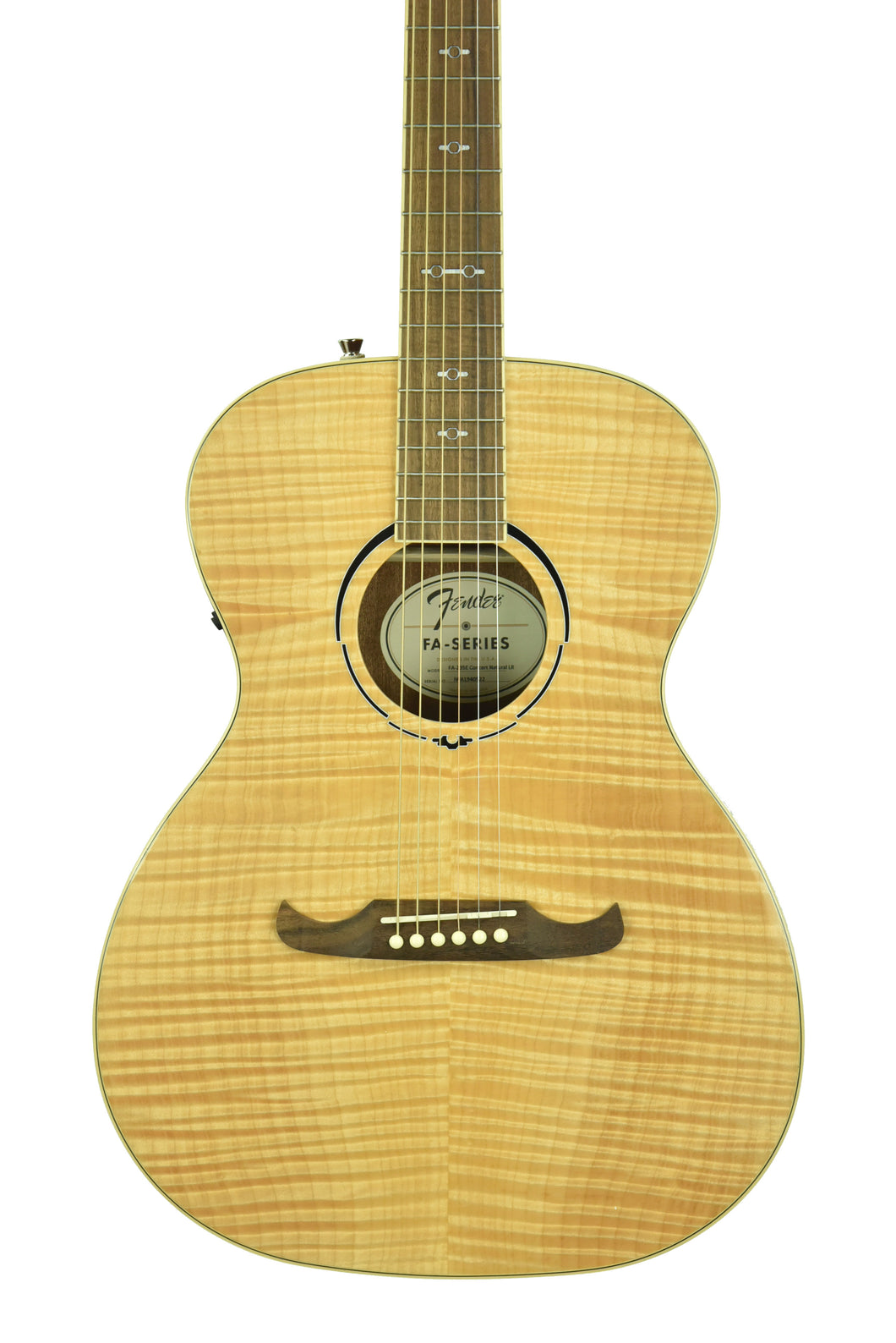 Fender FA-235E Concert Acoustic Electric in Natural IWA1940522 - The Music Gallery