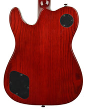 Fender Jim Adkins JA-90 Thinline Telecaster Crimson Red Transparent ICF20000043 - The Music Gallery