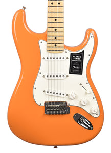 Fender Player Stratocaster in Capri Orange MX21018645 - The Music Gallery