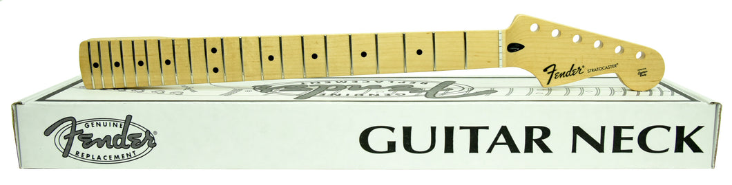 Fender Standard Series Stratocaster® Neck, 21 Medium Jumbo Frets - Maple MXE19173231