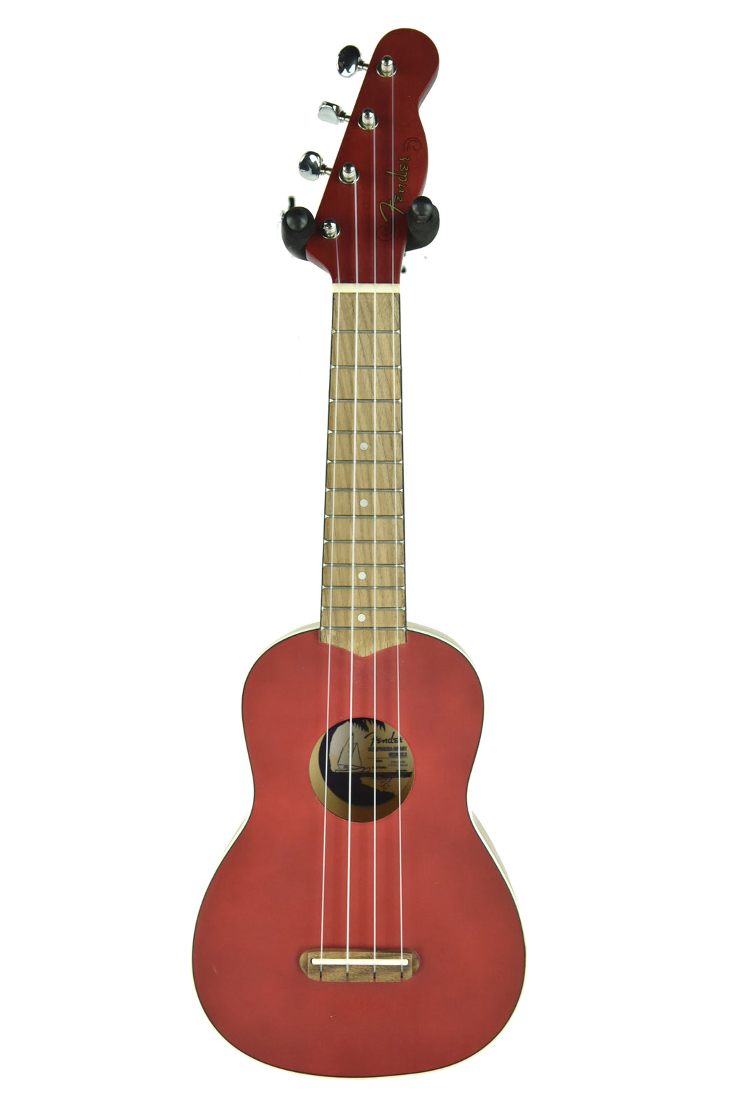 Fender® Venice Soprano Ukulele in Cherry CYN1936610 - The Music Gallery