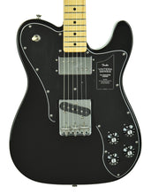 Fender Vintera '70s Telecaster Custom in Black MX20057698 - The Music Gallery
