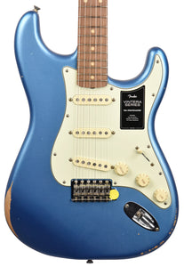 Fender Vintera Road Worn 60s Stratocaster in Lake Placid Blue MX21079720