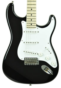 Fender Custom Shop Masterbuilt Eric Clapton Stratocaster by Todd Krause in Black CZ547673 - The Music Gallery
