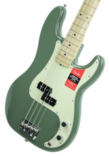 Fender® American Professional Precision Bass in Antique Olive - Front Right