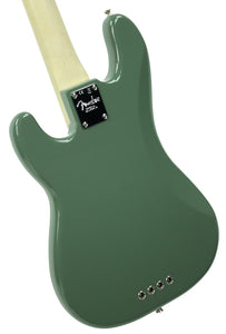 Fender® American Professional Precision Bass in Antique Olive - Back Left