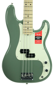 Fender® American Professional Precision Bass in Antique Olive - Front