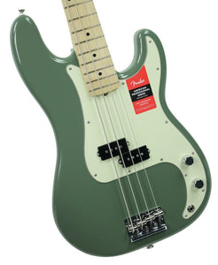 Fender® American Professional Precision Bass in Antique Olive - Front Left