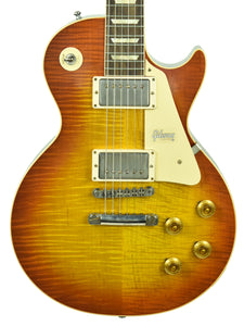 Gibson Custom 60th Anniversary 1960 Les Paul Standard V1 VOS Antique Burst 00739 - The Music Gallery