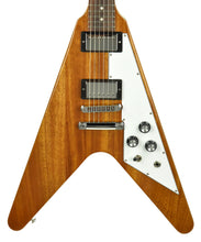 Gibson Flying V in Antique Natural 221100094 - The Music Gallery