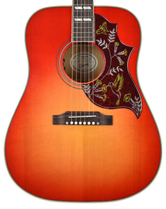 Gibson Montana Hummingbird Acoustic Guitar in Vintage Cherry Sunburst
