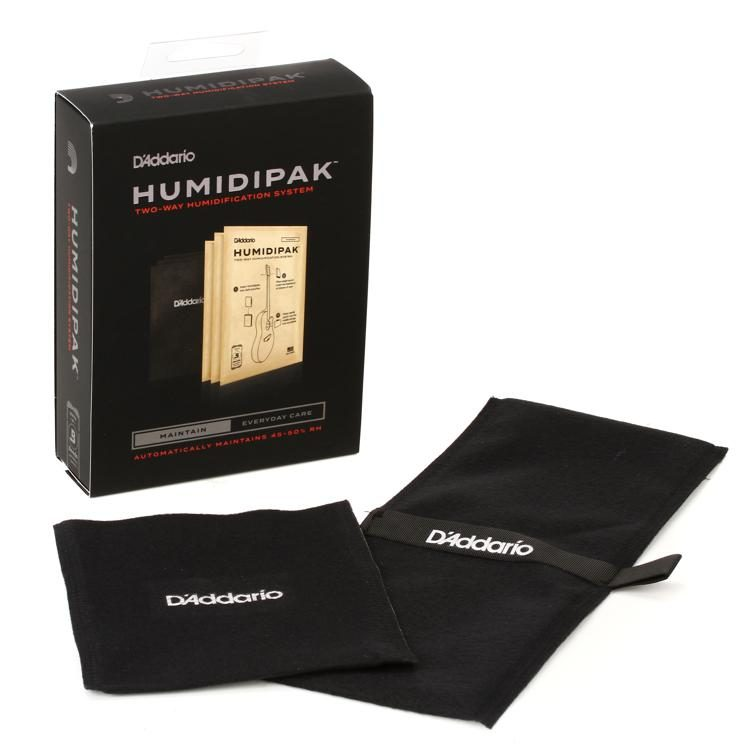 D'Addario Humidipak Two Way Auto Humidity Control System