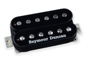 Seymour Duncan SH-4 JB Bridge Position Humbucker in Black | The Music Gallery | Top Magnets Humbucker Pickup Pole Pieces