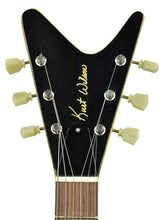 Kurt Wilson Explorer Junior Korina - Headstock Front