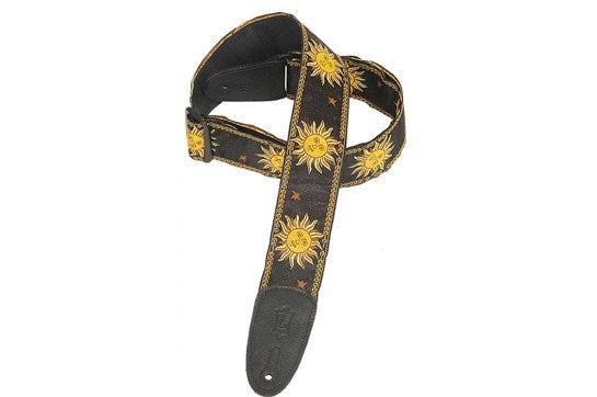 Levy's MPJG '60s Sun Polyester Guitar Strap | The  Music Gallery