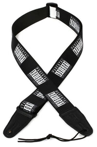 "Levy's 2"" Printed Polyester Strap w/Leather Ends"