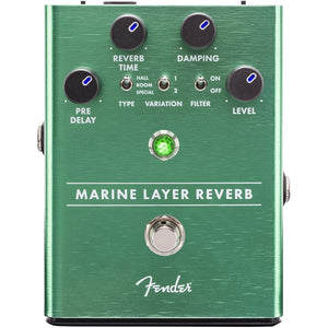 Fender® Marine Layer Reverb Effect Pedal for Electric Guitar - The Music Gallery