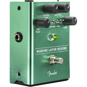 Fender® Marine Layer Reverb Effect Pedal for Electric Guitar