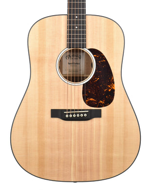 Martin D-10E Acoustic-Electric Guitar in Natural 2470541 - The Music Gallery