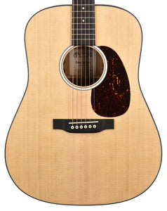 Martin D-10E Acoustic-Electric Guitar in Satin Natural 2470513