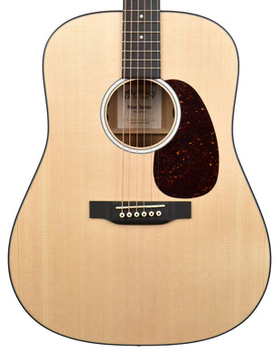 Martin D-10E Acoustic-Electric Guitar in Satin Natural 2470516