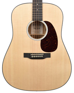 Martin D-10E Acoustic-Electric Guitar in Satin Natural 2470516 - The Music Gallery