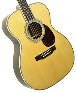 Martin OM-42 Acoustic Guitar in Natural 2409895