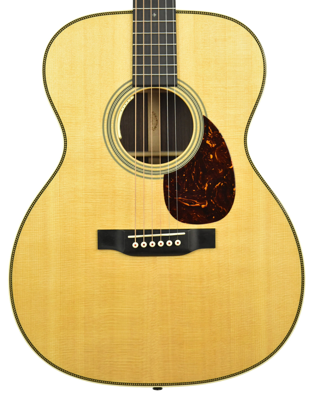 Martin OM-28E Acoustic-Electric Guitar in Natural 2412375