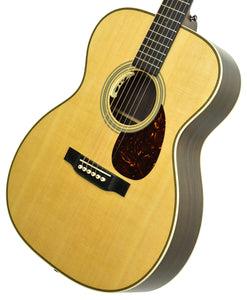 Martin OM-28E Acoustic-Electric Guitar in Natural 2412375 - The Music Gallery