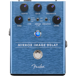 Fender® Mirror Image Delay Pedal for Guitar - The Music Gallery