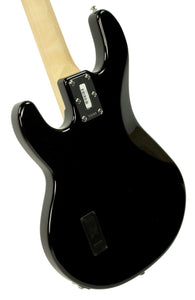 Ernie Ball Music Man StingRay Bass in Black - Back Left