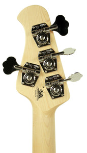 Ernie Ball Music Man StingRay Bass in Black - Headstock Back