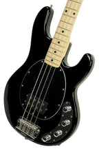 Ernie Ball Music Man StingRay Bass in Black - Front Right