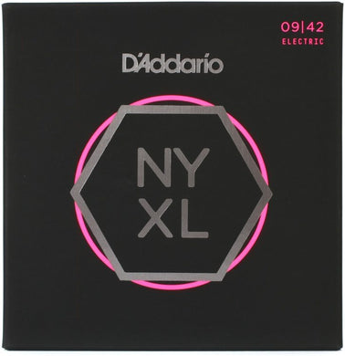 D'Addario NYXL Super Light .009-.042 Nickel Wound  Electric Guitar Strings | The  Music Gallery