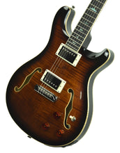 PRS SE Hollowbody II Piezo in Black Gold D01387 - The Music Gallery