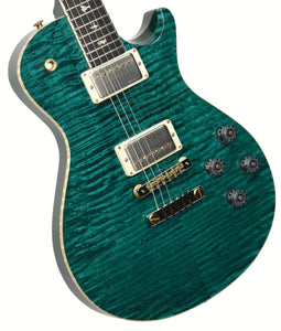 PRS 35th Anniversary McCarty 594 SingleCut 10 Top in Turquoise 0309315 - The Music Gallery