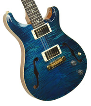 PRS Hollowbody 12 String 10 Top in Aquamarine w/OHSC 0288627 - The Music Gallery