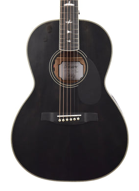 PRS SE P20E Tonare Parlor Acoustic-Electric in Black Top D12579 - The Music Gallery