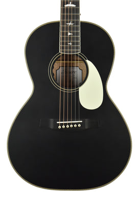 PRS SE P20e Parlor Acoustic-Electric in Black Top D15690 - The Music Gallery