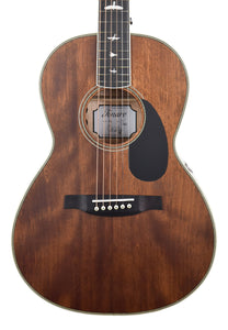 PRS SE P20e Parlor Acoustic-Electric in Vintage Mahogany D13023 - The Music Gallery