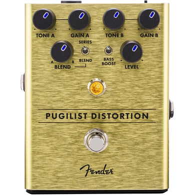 Fender® Pugilist Distortion Pedal | The  Music Gallery